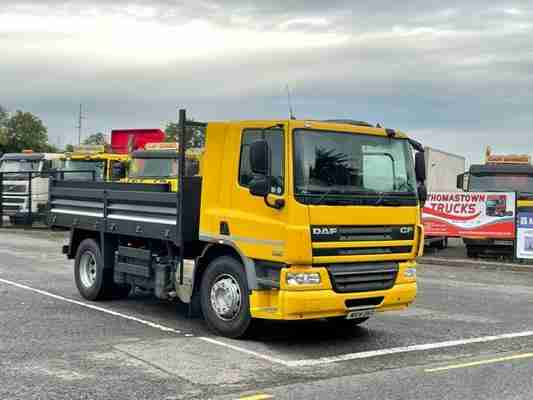 2014 DAF 75CF 250 4X2 TIPPER WITH NEW STEEL DROPSIDE BODY