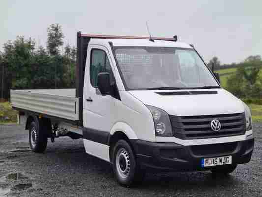 2016 VW Crafter Dropside 14ft Body