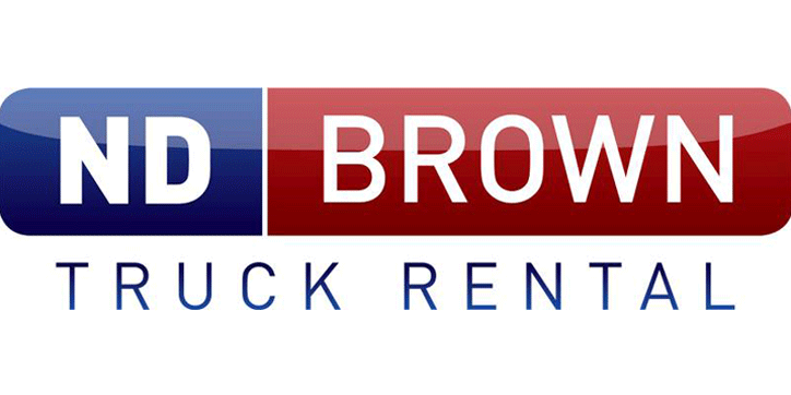 ND Brown Truck Rental logo
