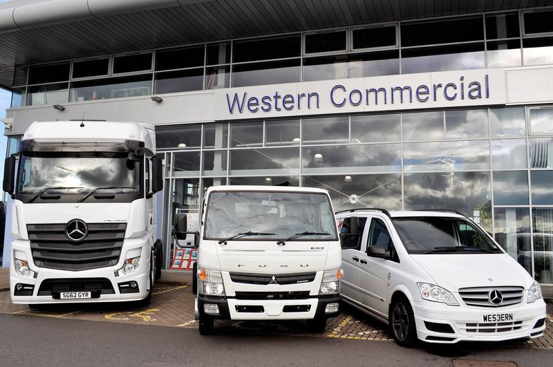 Western commercial gets mercedes benz truck and van for Mercedes benz commercial trucks