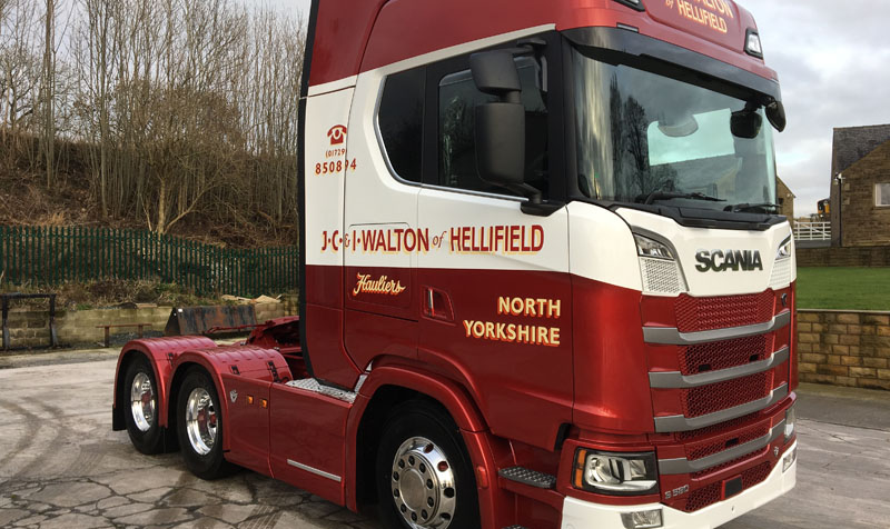 John Roberts Nissan >> JC & I Walton among first with Scania S580   Commercial Motor