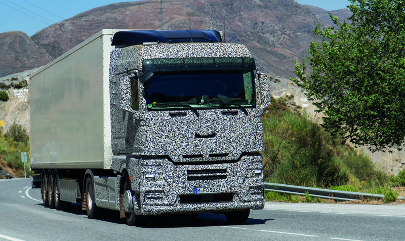 Spotted! Exclusive shots of the next MAN cab | Commercial Motor
