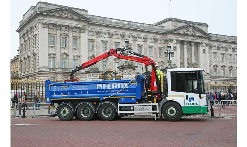 Ferns Group Econic truck