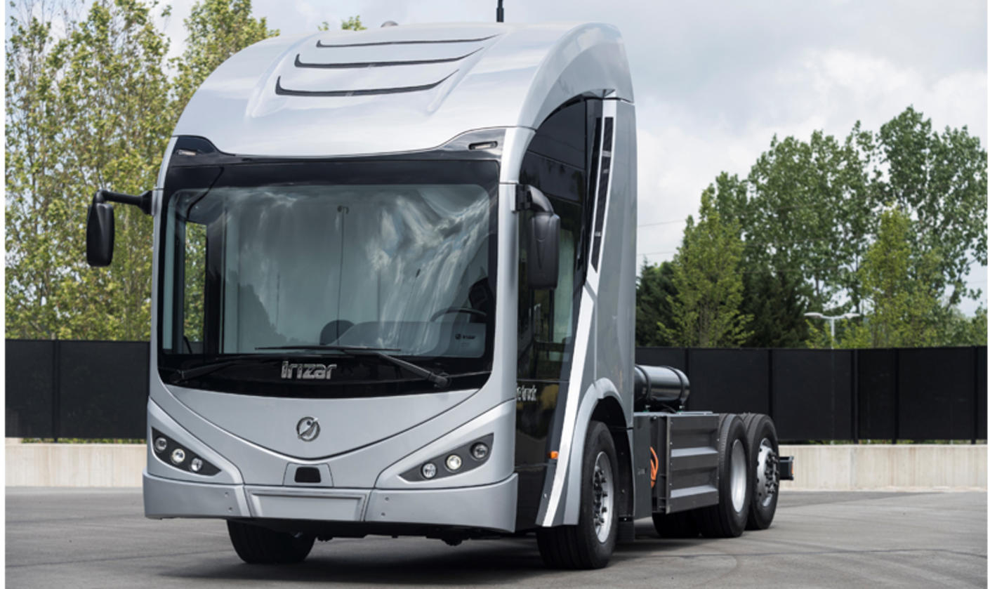 Irizar Ie electric truck 2