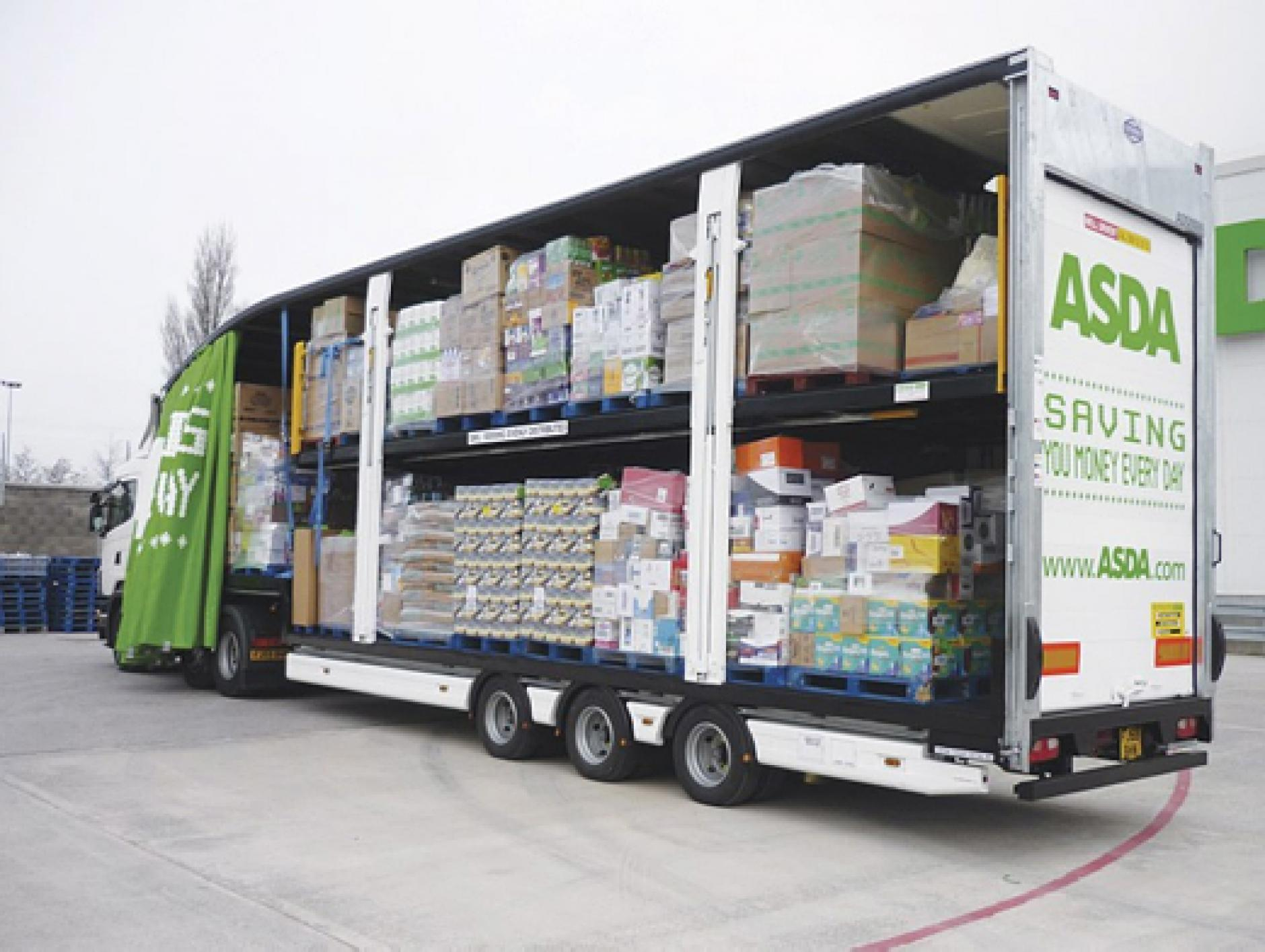 Asda to open home delivery hub in enfield commercial motor for Home shopping sites