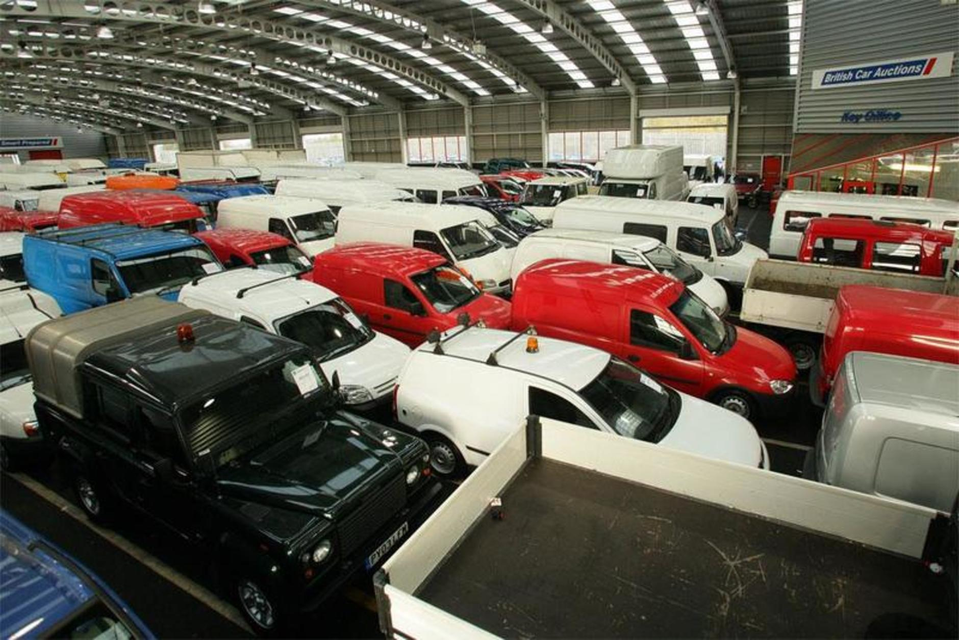 British Car Auctions open new Friday van sale in Glasgow ...