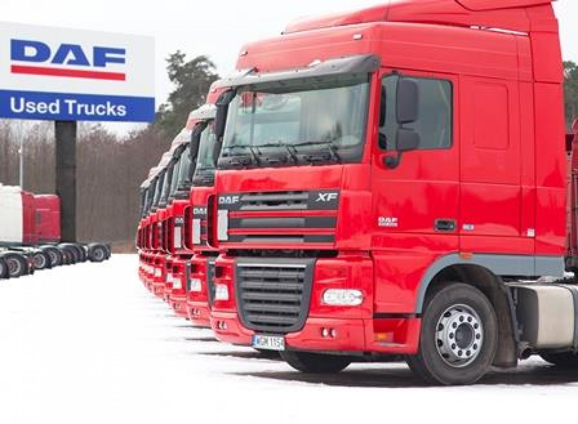 Daf opens groundbreaking used truck sales site in poland for Commercial motor used trucks