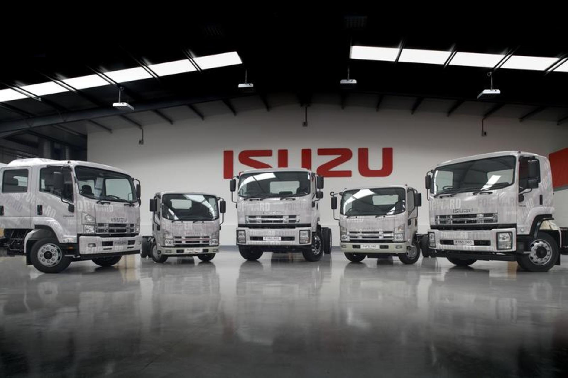 isuzu truck adds brand new north london main dealership | commercial
