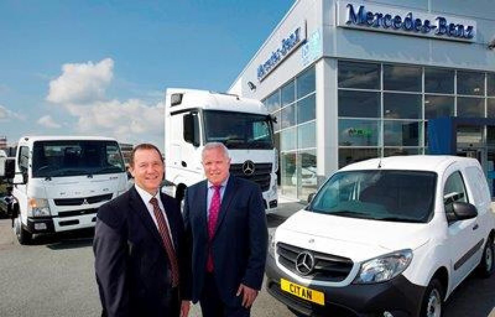Mercedes Benz Dealers Merge To Create A New Force In Cv
