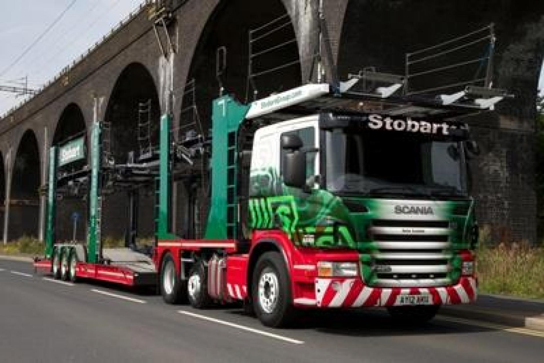 how to start a car transport business uk
