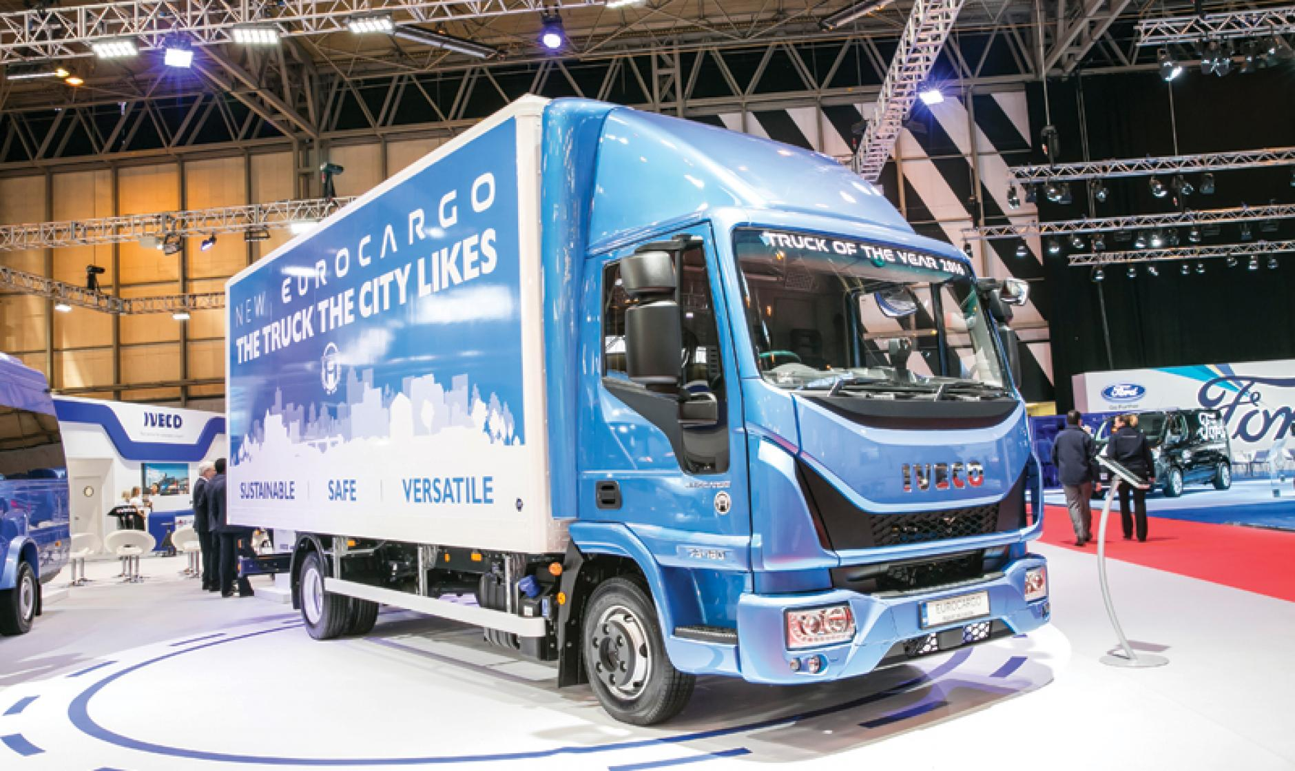 Iveco Eurocargo The Truck the City Likes