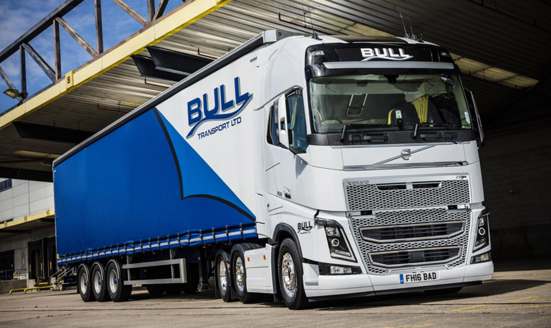 Bull Transport Buys Six Volvo Fh Tractor Units