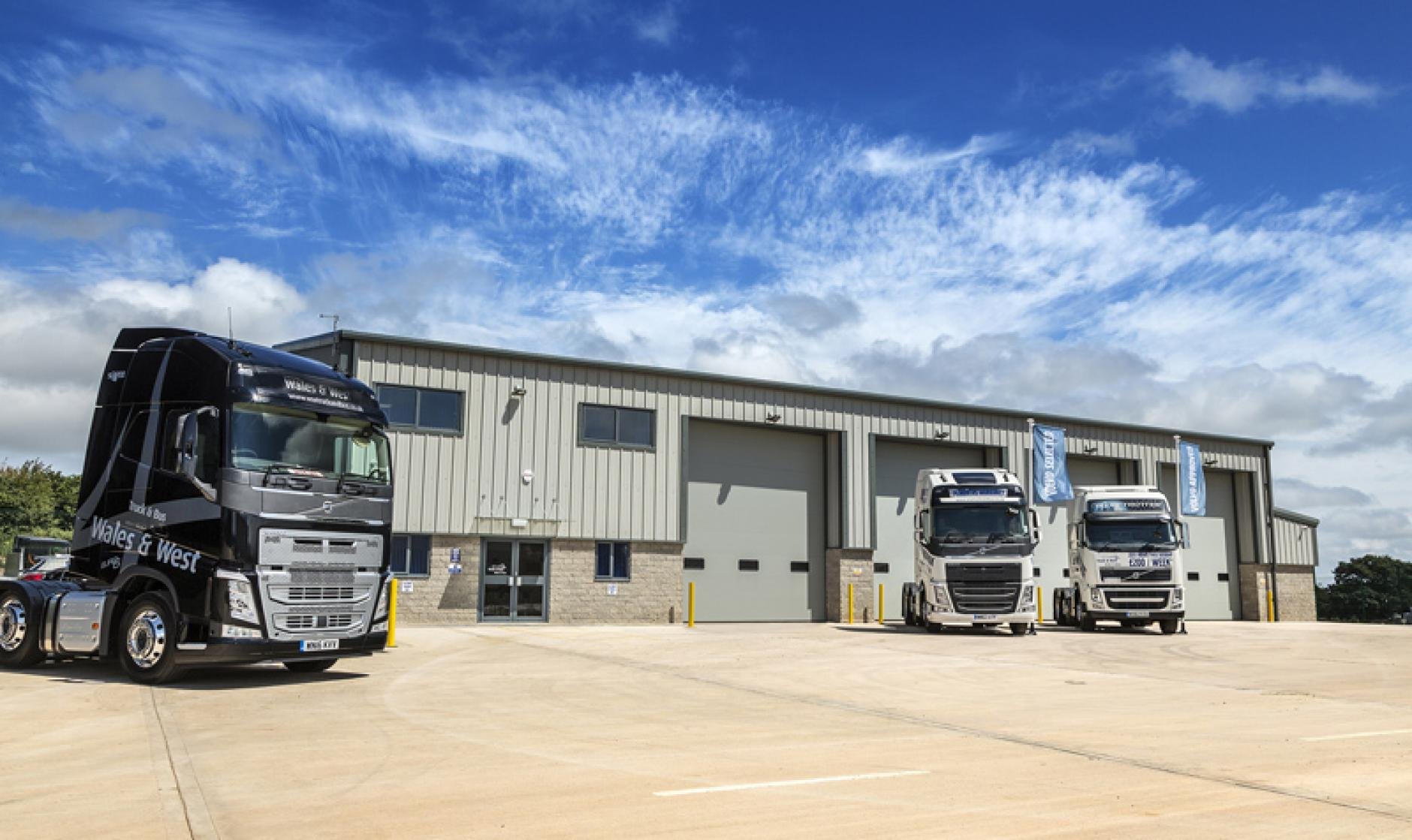Truck And Bus Wales And West Opens Shepton Mallet Branch Commercial Motor
