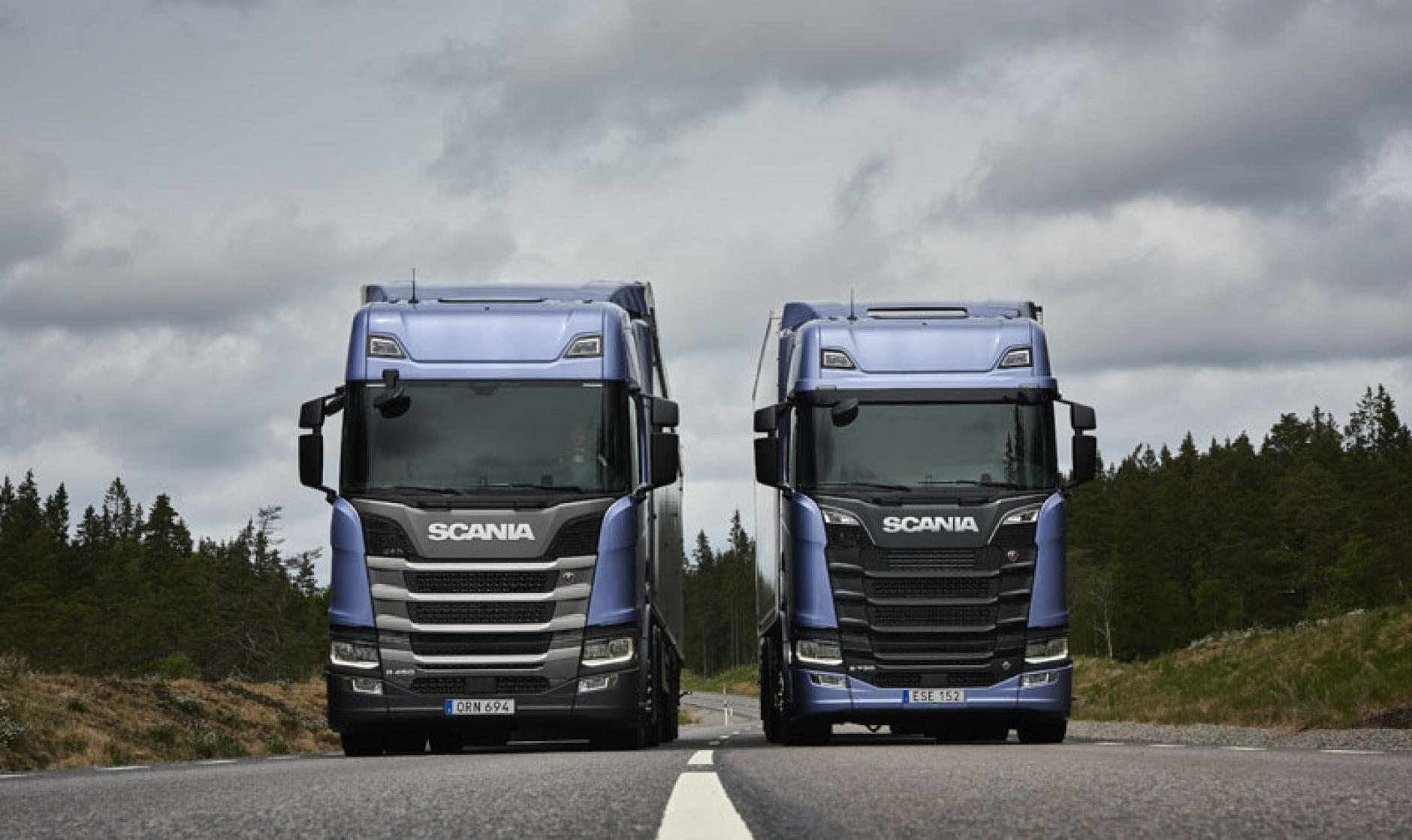 scania r and s series named international truck of the. Black Bedroom Furniture Sets. Home Design Ideas