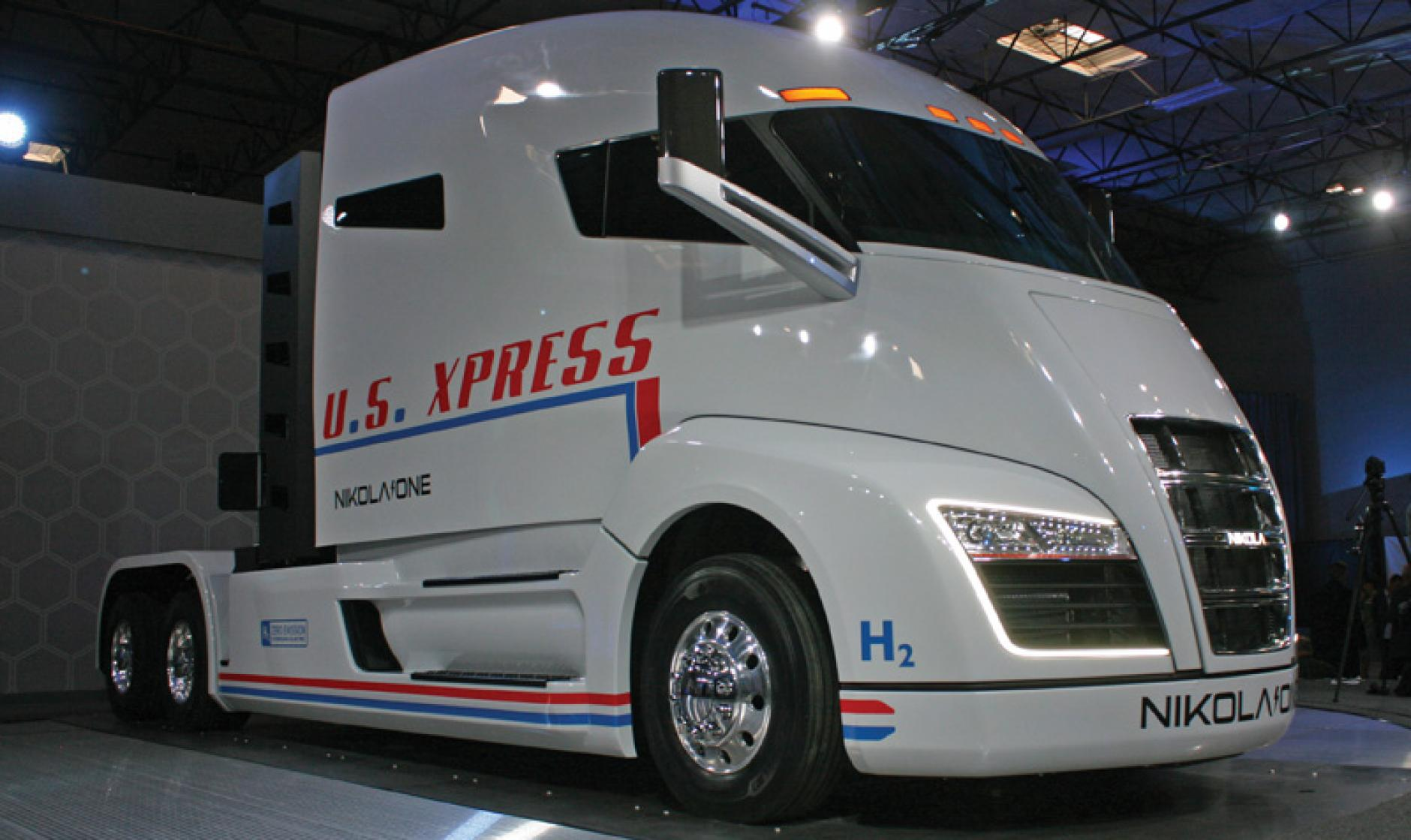Nikola one electric truck unveiled commercial motor for Nikola motors stock price