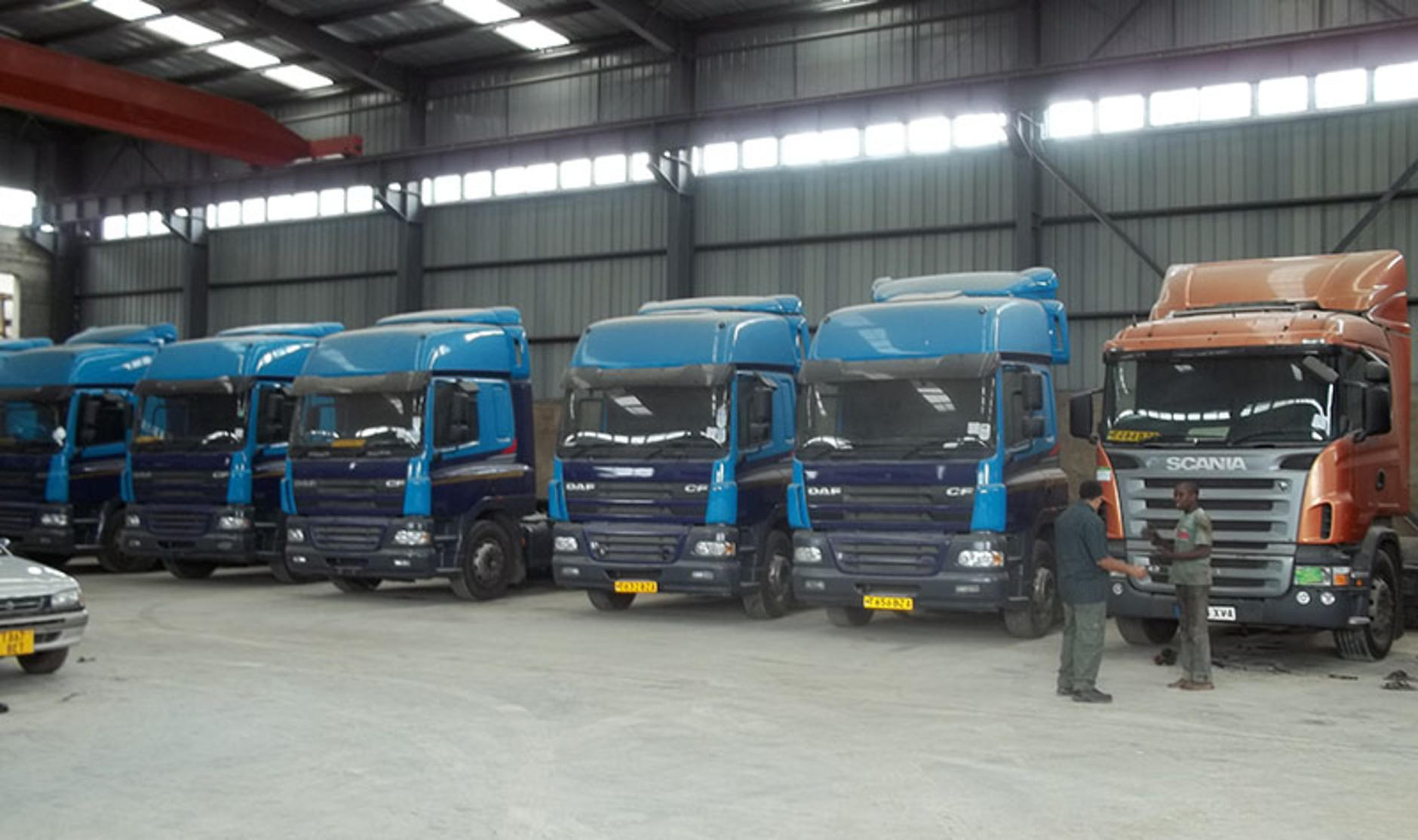 Six of the top export destinations for used trucks from for Commercial motor used trucks