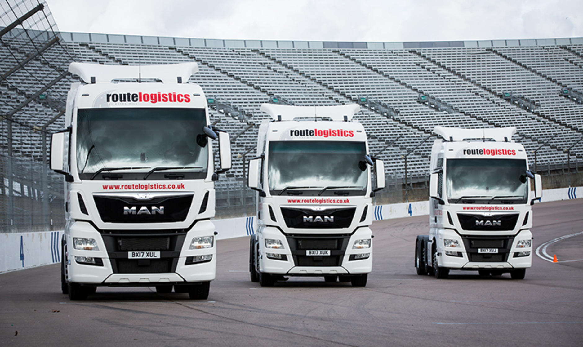 Route Logistics Buys Six Man Tgx Units Commercial Motor