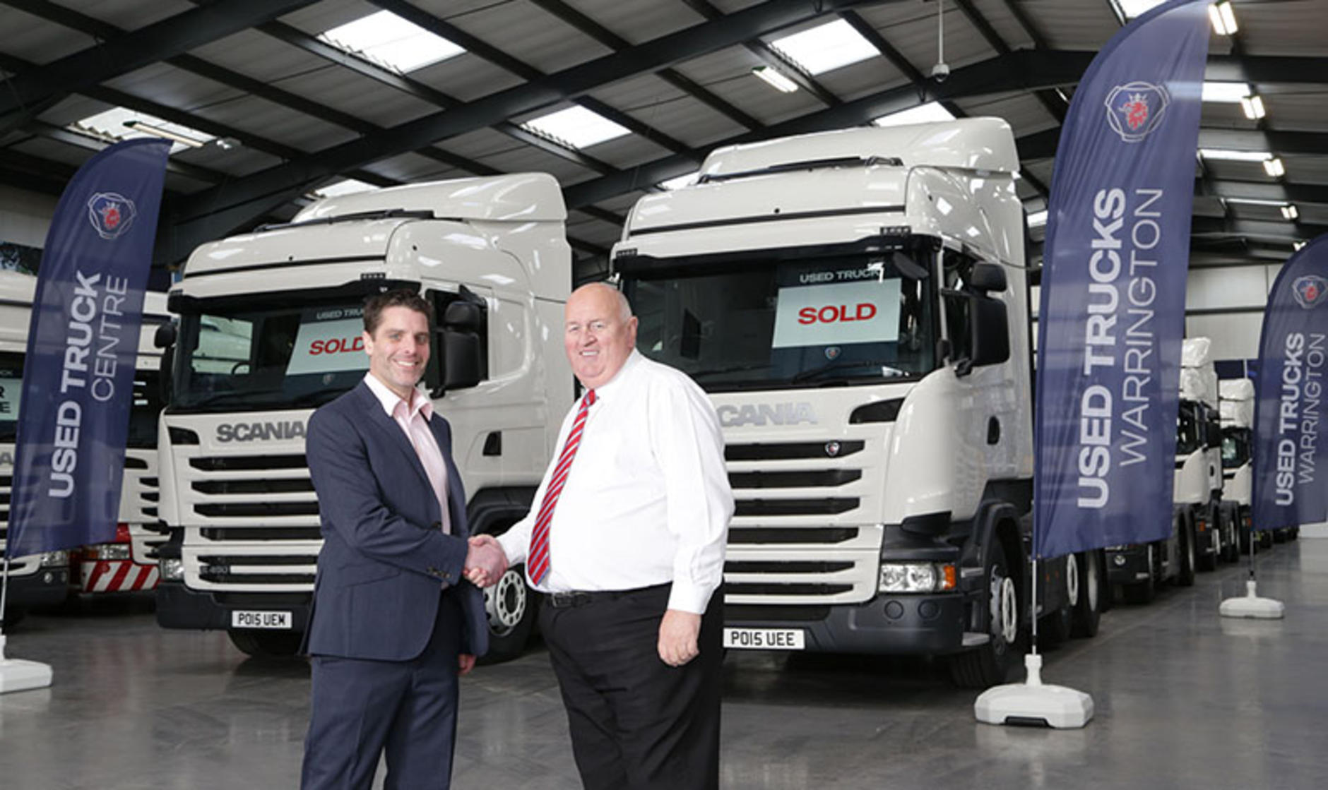 First sales for scania 39 s warrington used truck centre for Commercial motor used trucks