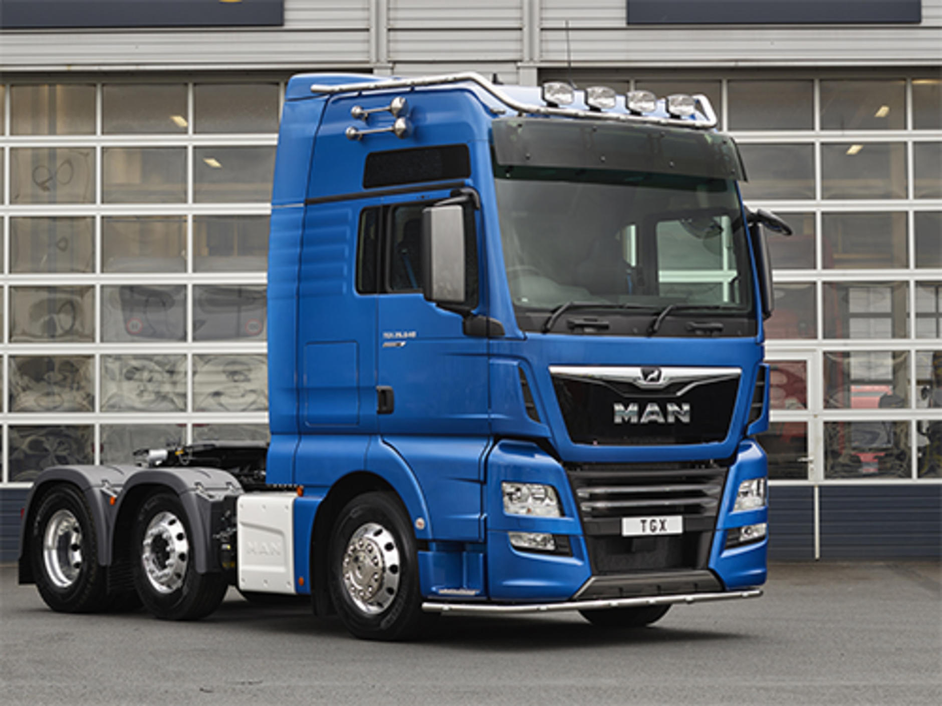 Man Truck Amp Bus Uk Is Presenting A Strong Future Proof Portfolio Of Trucks At The 2017
