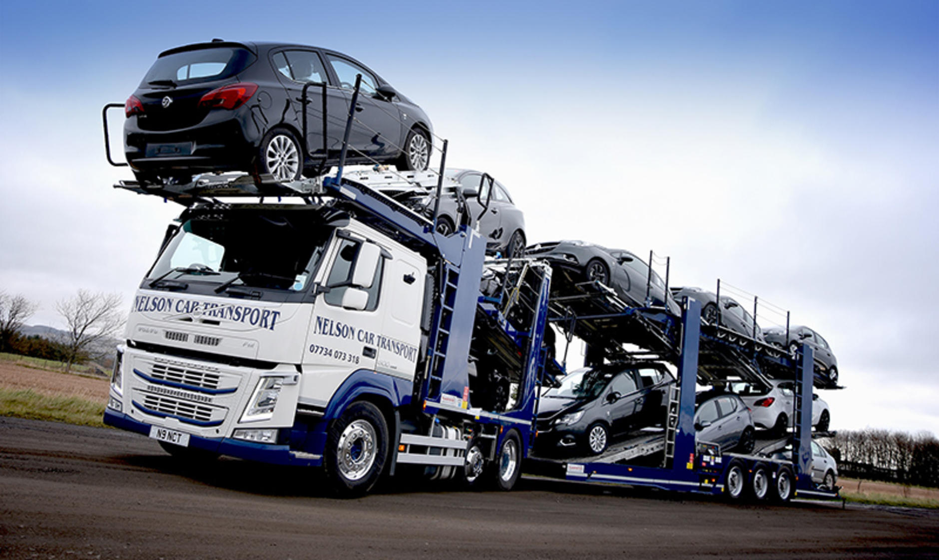 volvo truck and bus north and scotland supplies nelson with fm 500 car transporter commercial. Black Bedroom Furniture Sets. Home Design Ideas