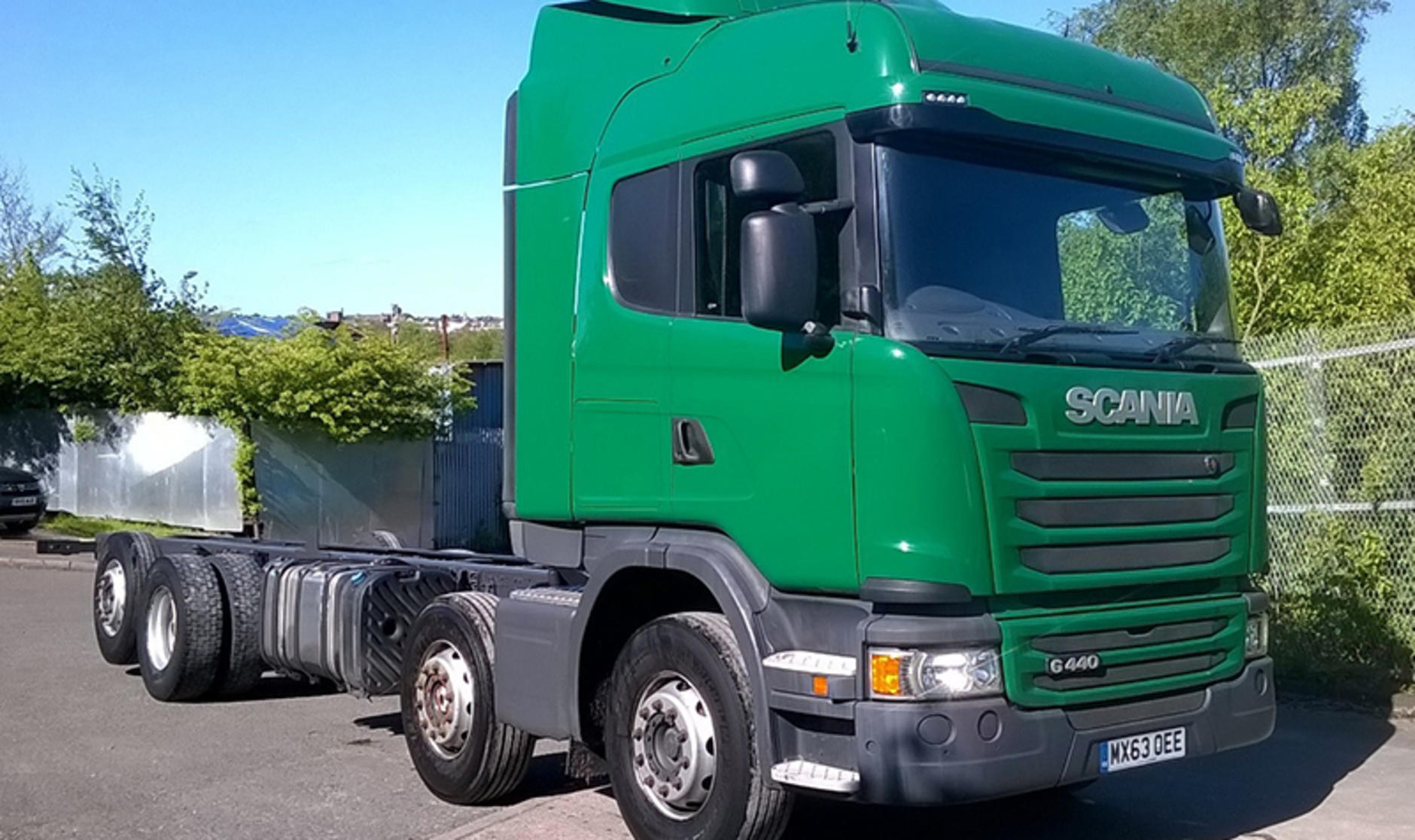 Commercial motor s truck of the week 2013 scania r440 8x2 for Commercial motor used trucks