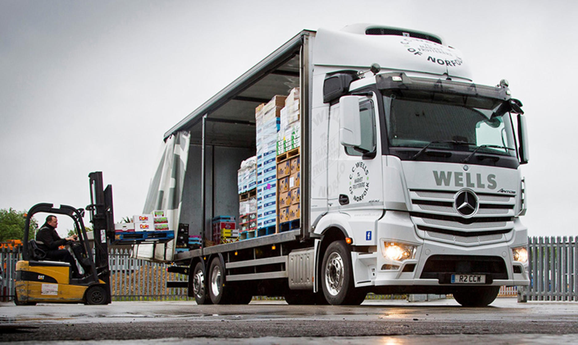 Mercedes benz antos from orwell truck and van for cc wells for Mercedes benz truck pictures