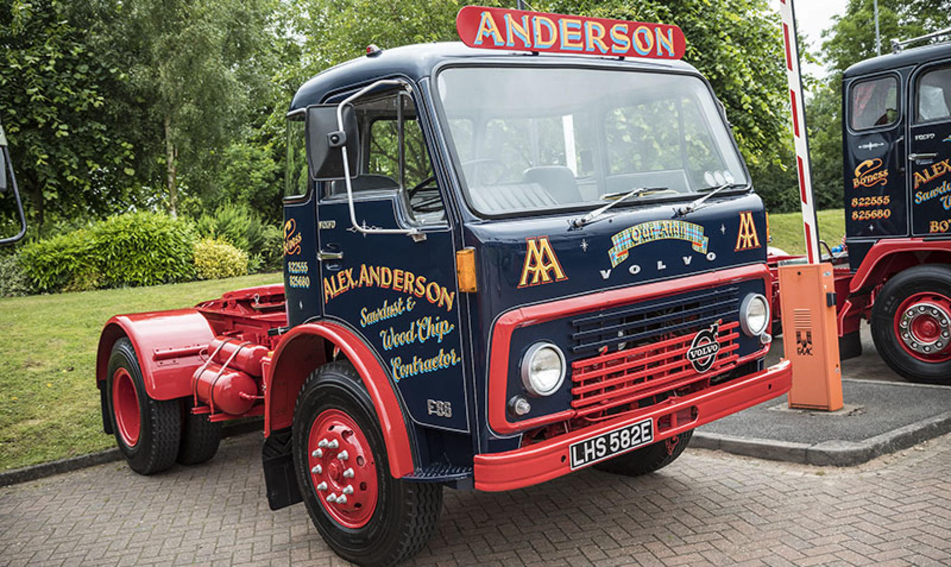 Classic Trucks On Display At Volvo Uk Headquarters