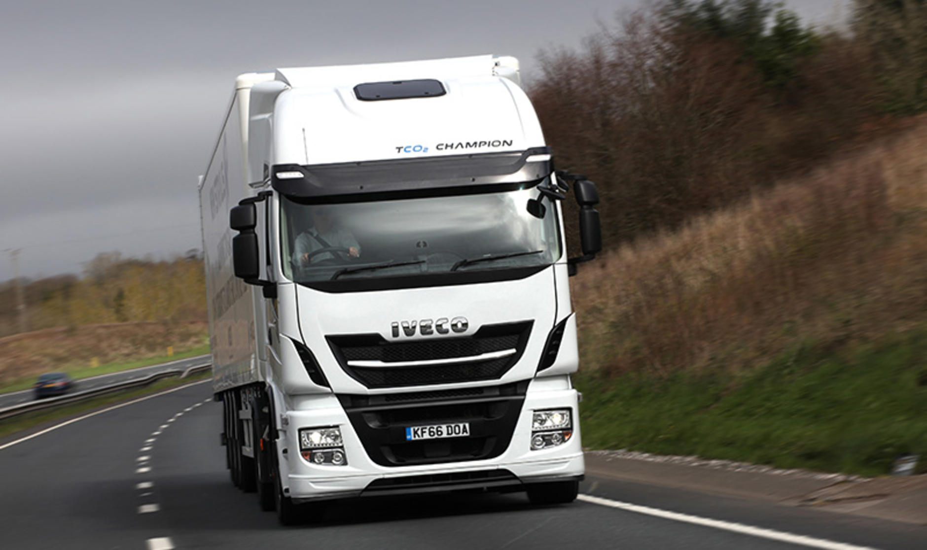 Iveco Stralis Axis Fleet Management