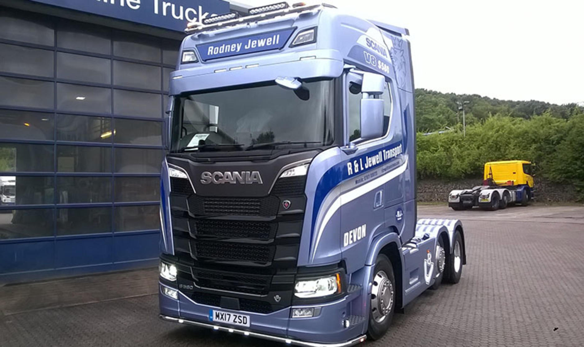 Sold First Used Next Generation V8 Scania Commercial Motor
