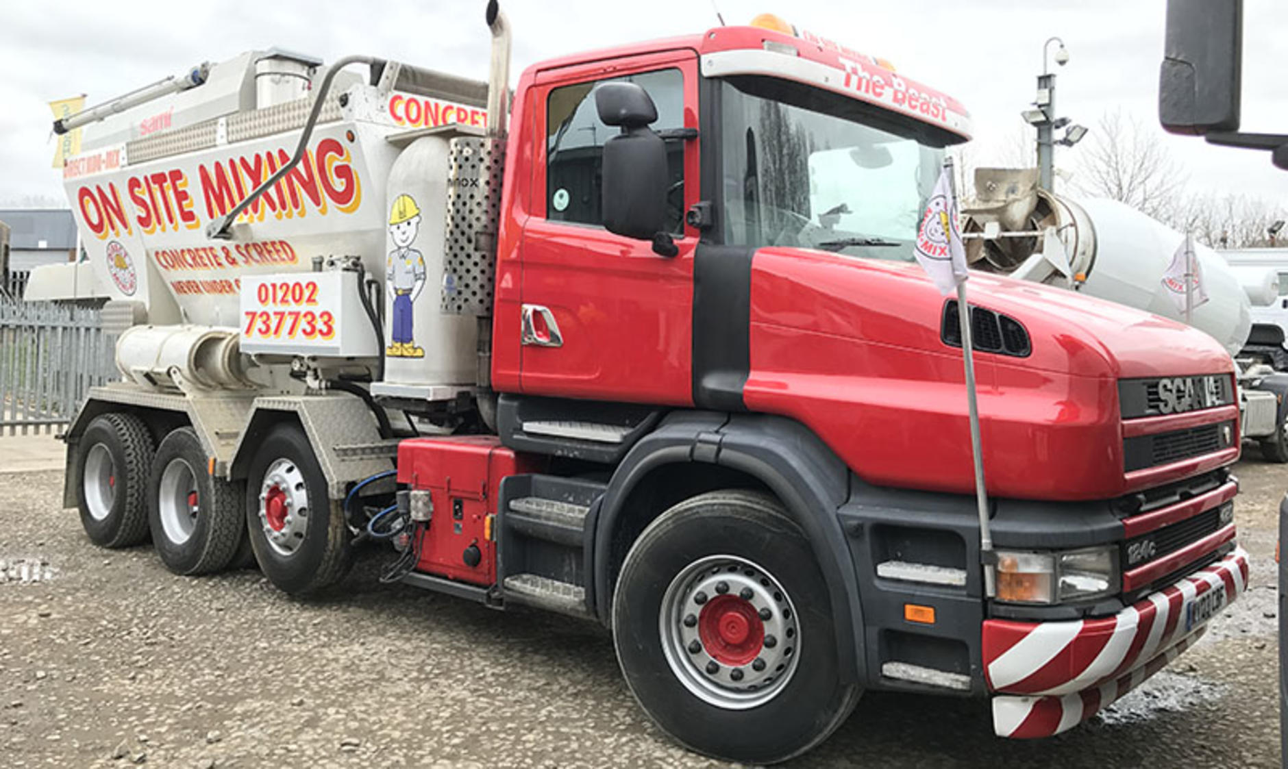 Commercial motor s truck of the week 2003 scania 8x4 t for Commercial motor used trucks