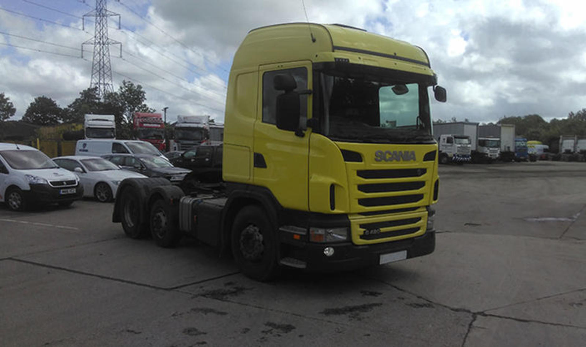 Commercial motor s used truck of the week a 2012 scania for Commercial motor used trucks