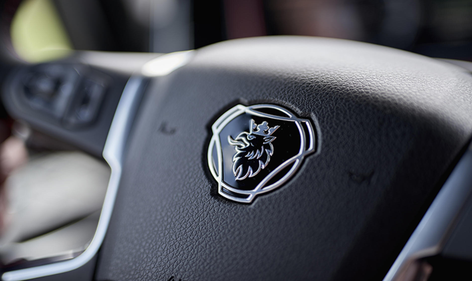 Scania Griffin badge