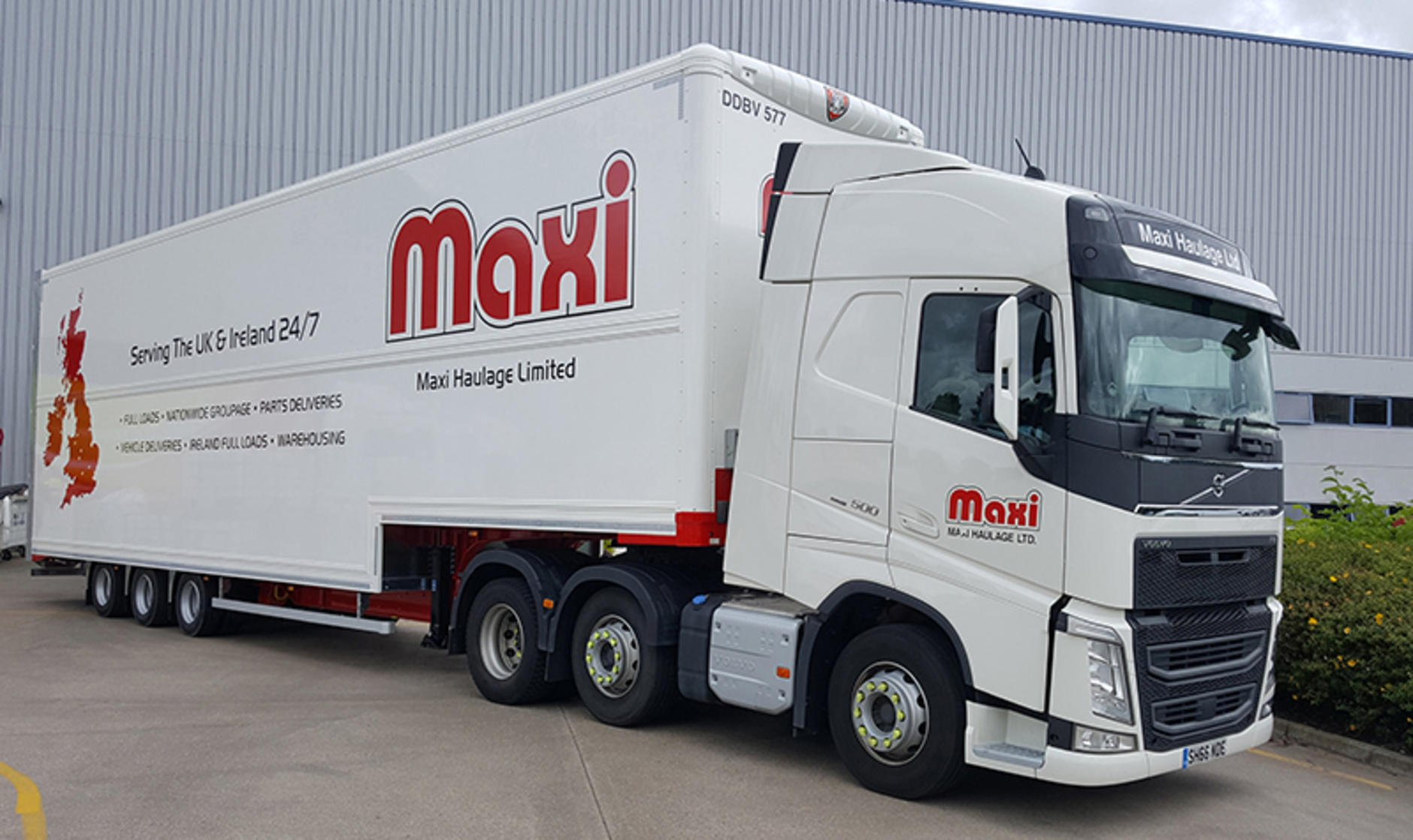 Maxi Haulage buys trailers from Tiger | Commercial Motor
