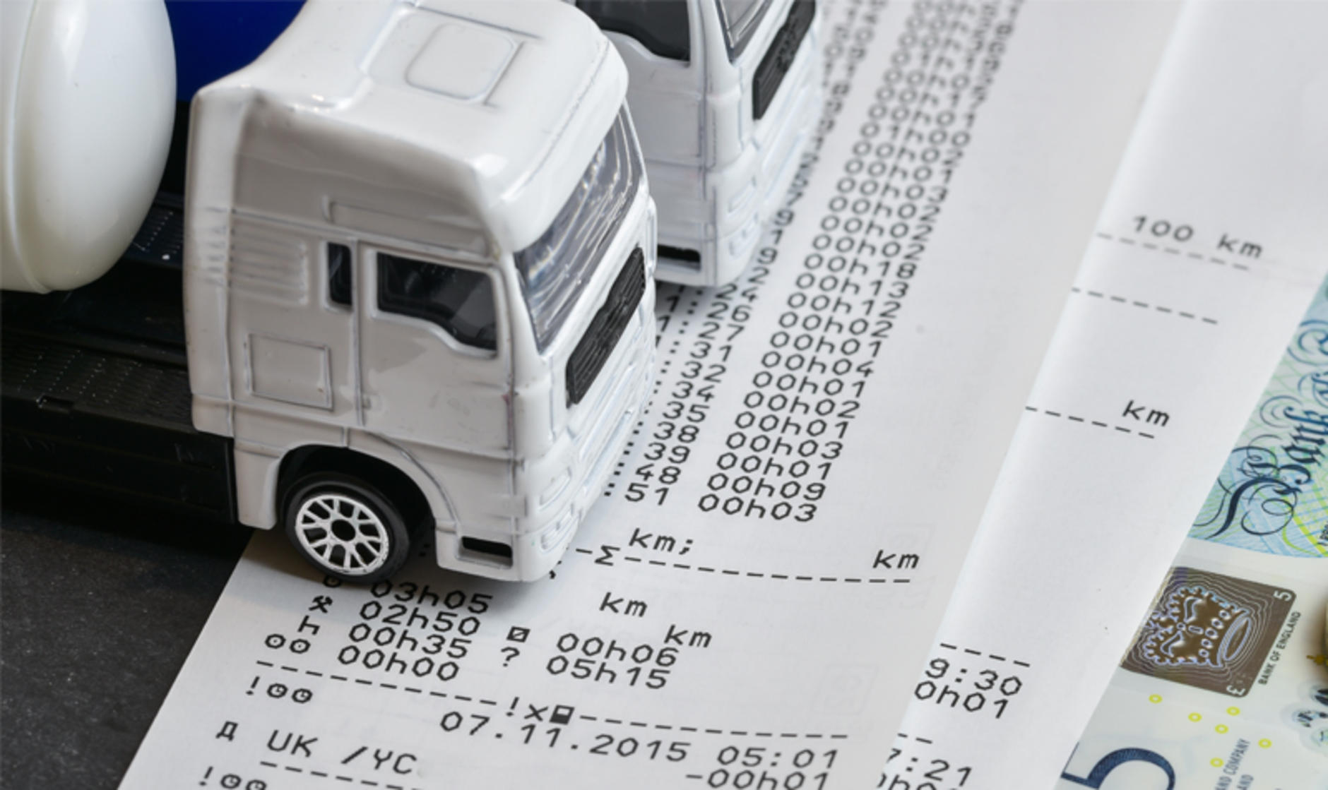 tachograph print ouT
