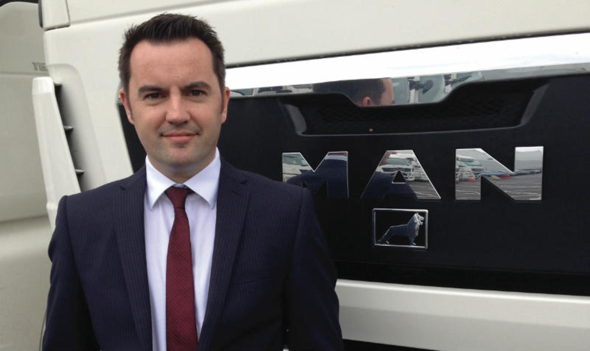 Robert Zubovic, network director, MAN Truck & Bus UK