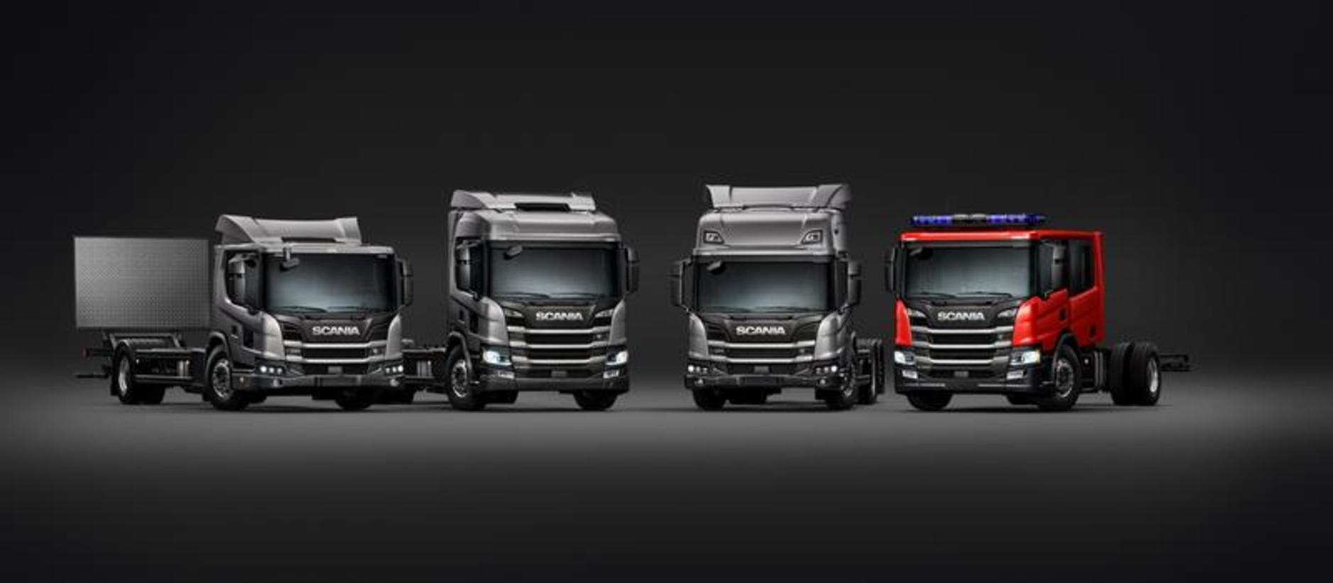 Scania Completes Truck Range Launches L Series Adds New