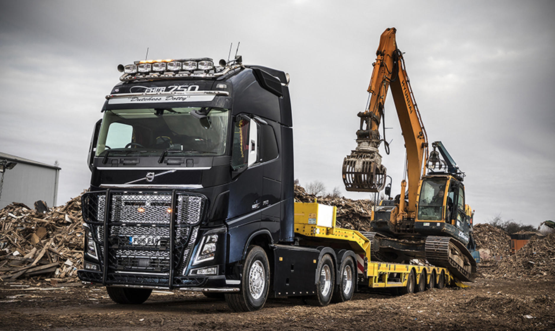 East Anglian Resources takes customised Volvo FH16-750 ...