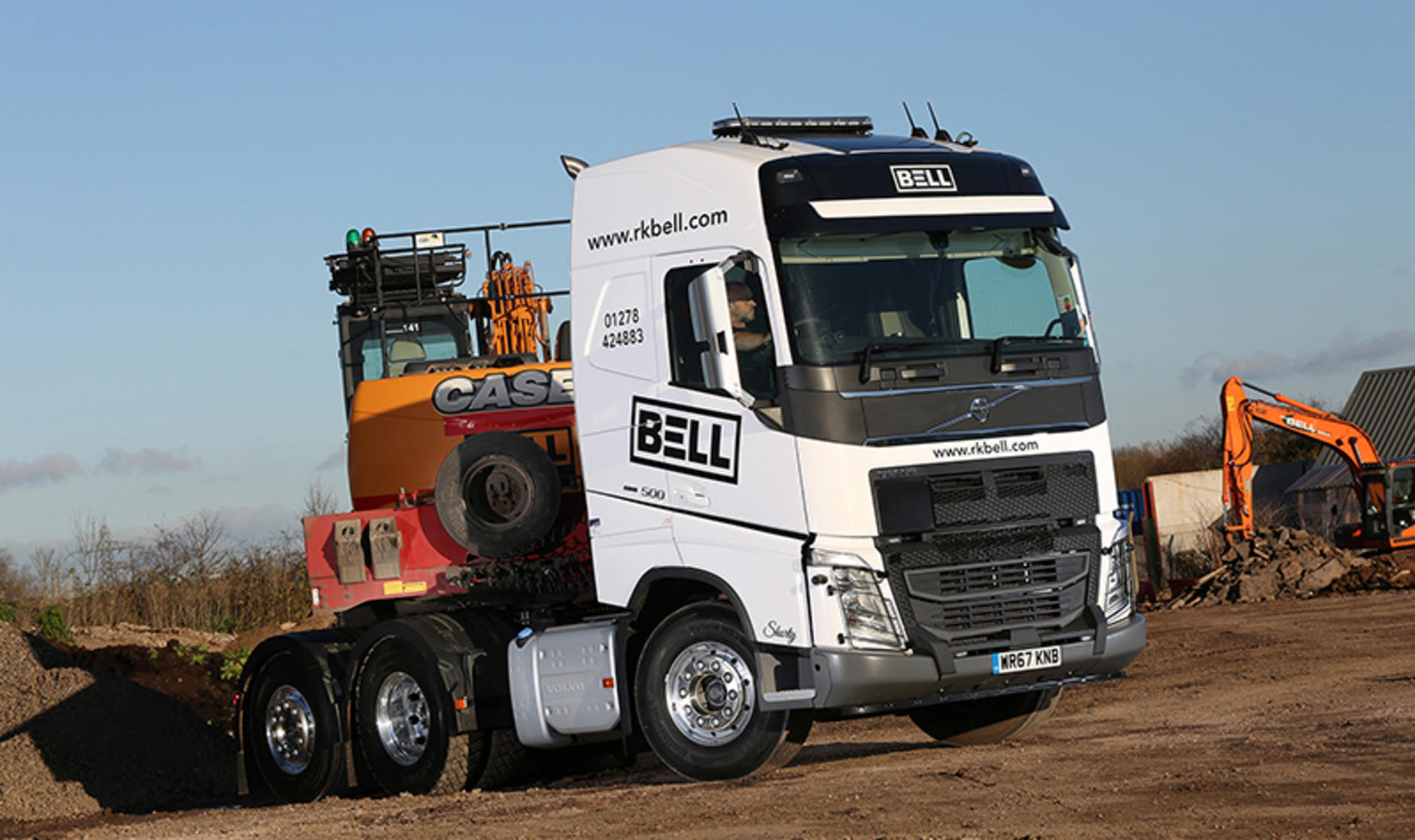 427dd3faeb Truck and Bus Wales and West supplies RK Bell Group with an FH 500 ...