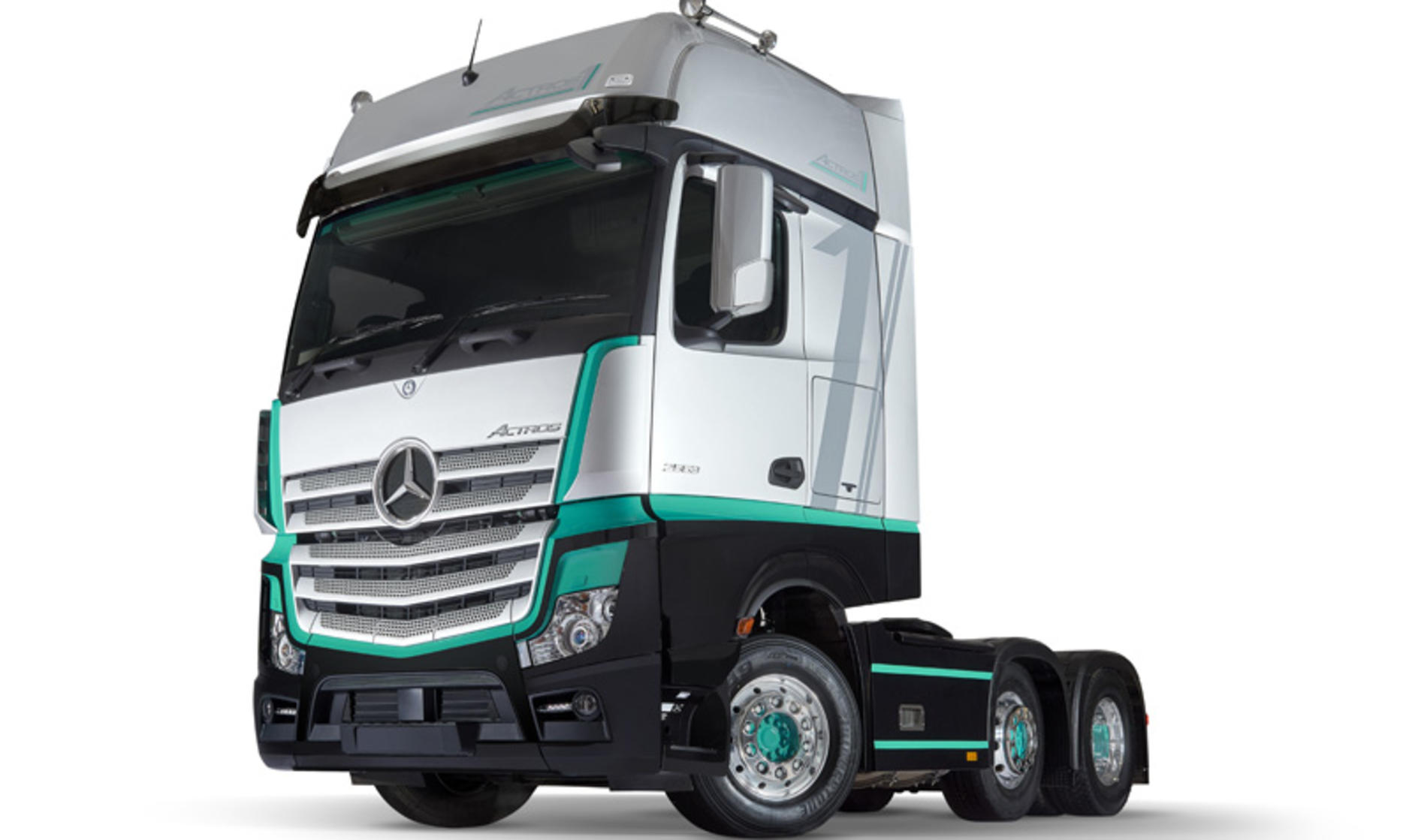 New Actros 1 is the driver's Mercedes-Benz of choice ...