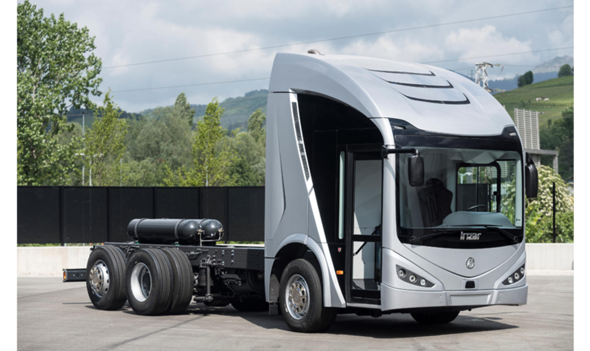 Irizar Ie electric truck
