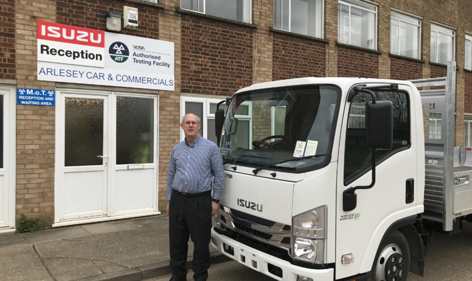 Arlesey Car And Commercials Has Been Appointed A Full Isuzu Truck UK Dealer,  Covering Bedfordshire As Well As Parts Of Buckinghamshire And Hertfordshire.