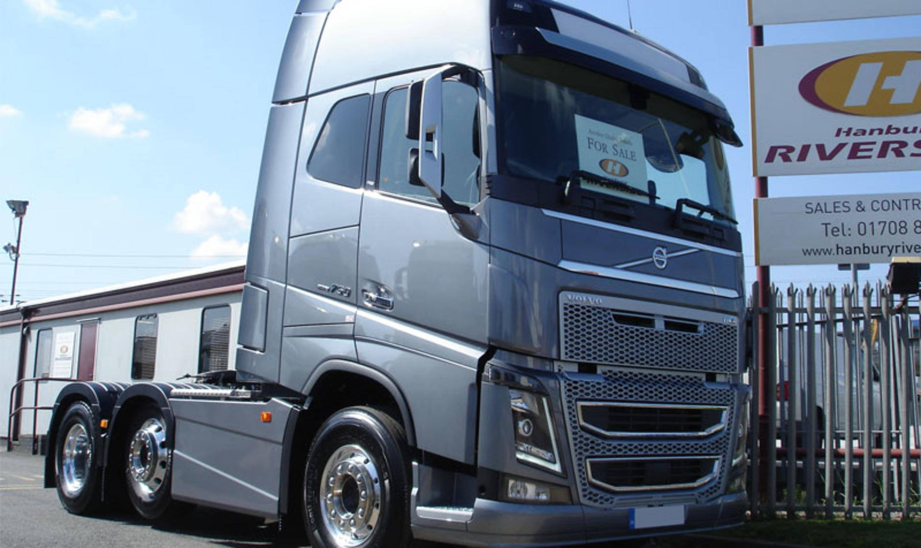 2017 Volvo Fh16 750 6x2 Mid Lift Commercial Motor S Used