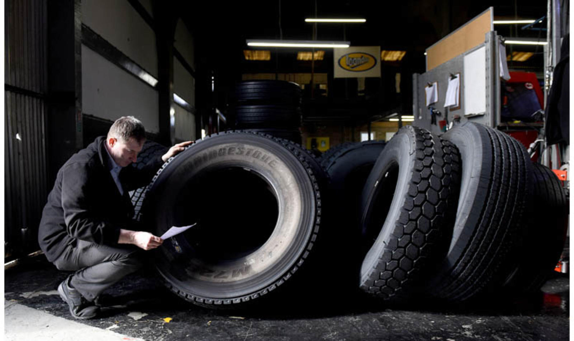 EU levy on Chinese tyres fuels UK retread market
