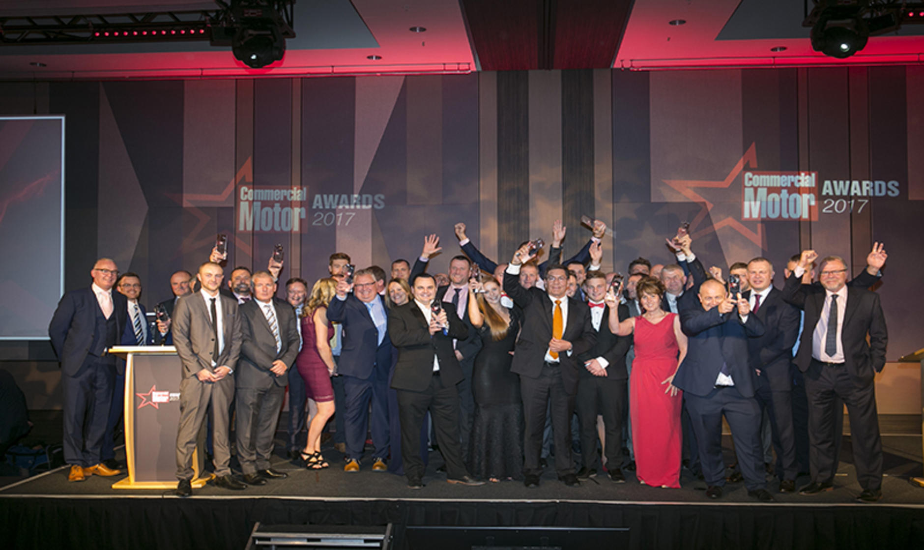 e7a9c3397ff898 ... Huddersfield-based Mac s Truck Sales and Mercedes-Benz dealer Rygor  Commercials led the way in nominations for a Commercial Motor Award