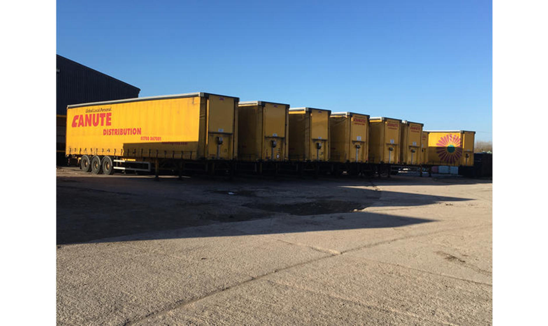 Canute trailers