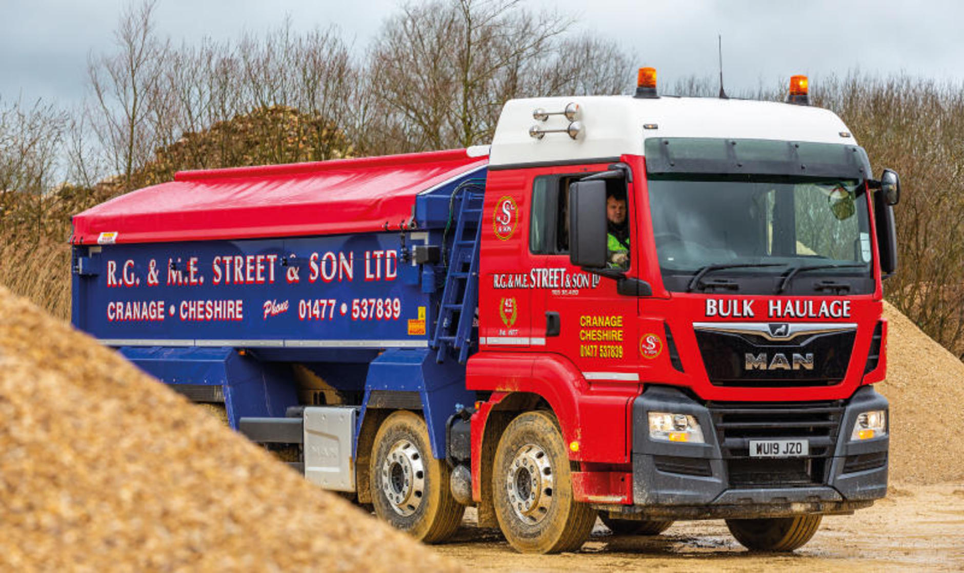 MAN TGS 32 420 – Tipper truck review | Commercial Motor