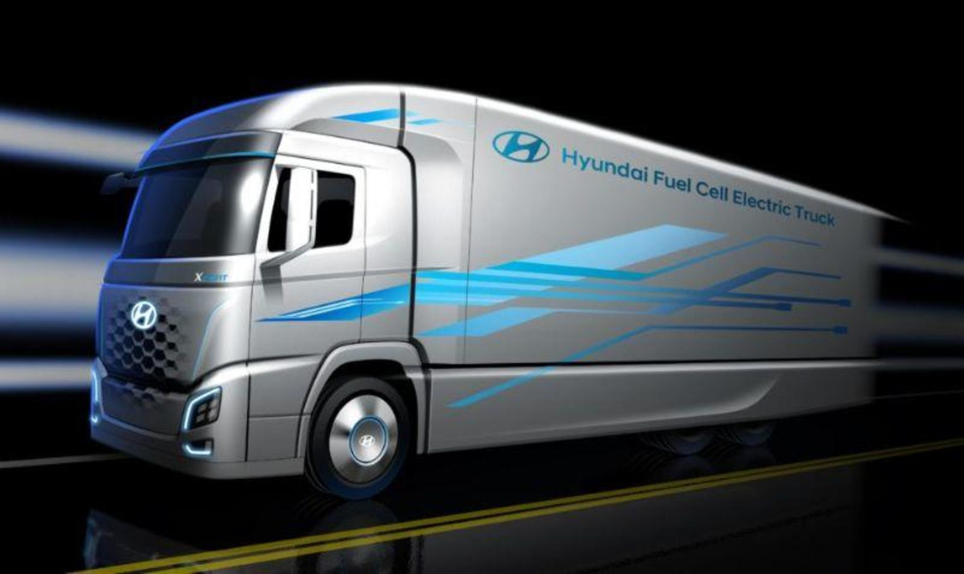 Hyundia Fuel Cell Truck