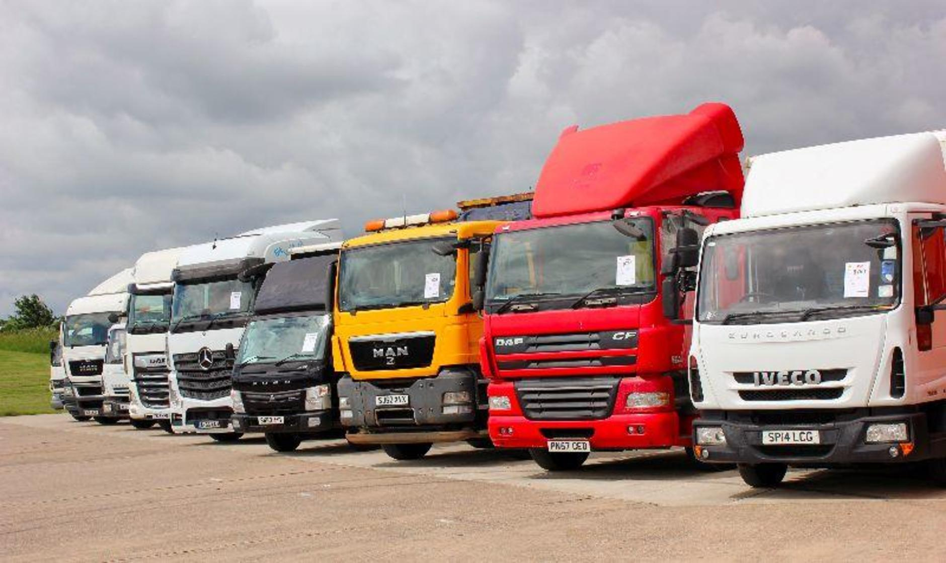 DAF XF 480 Super Space big hit at Manheim Leicestershire