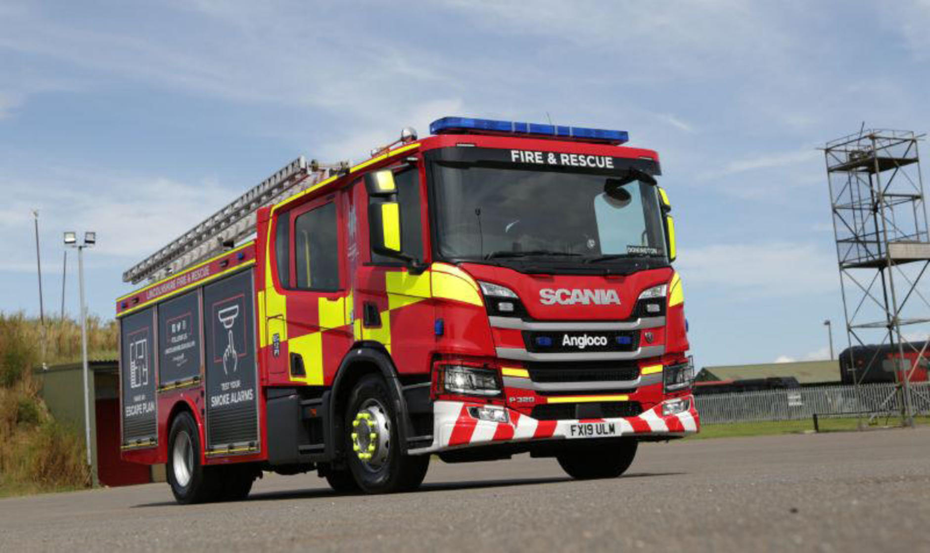 Scania P-Series Fire Engine
