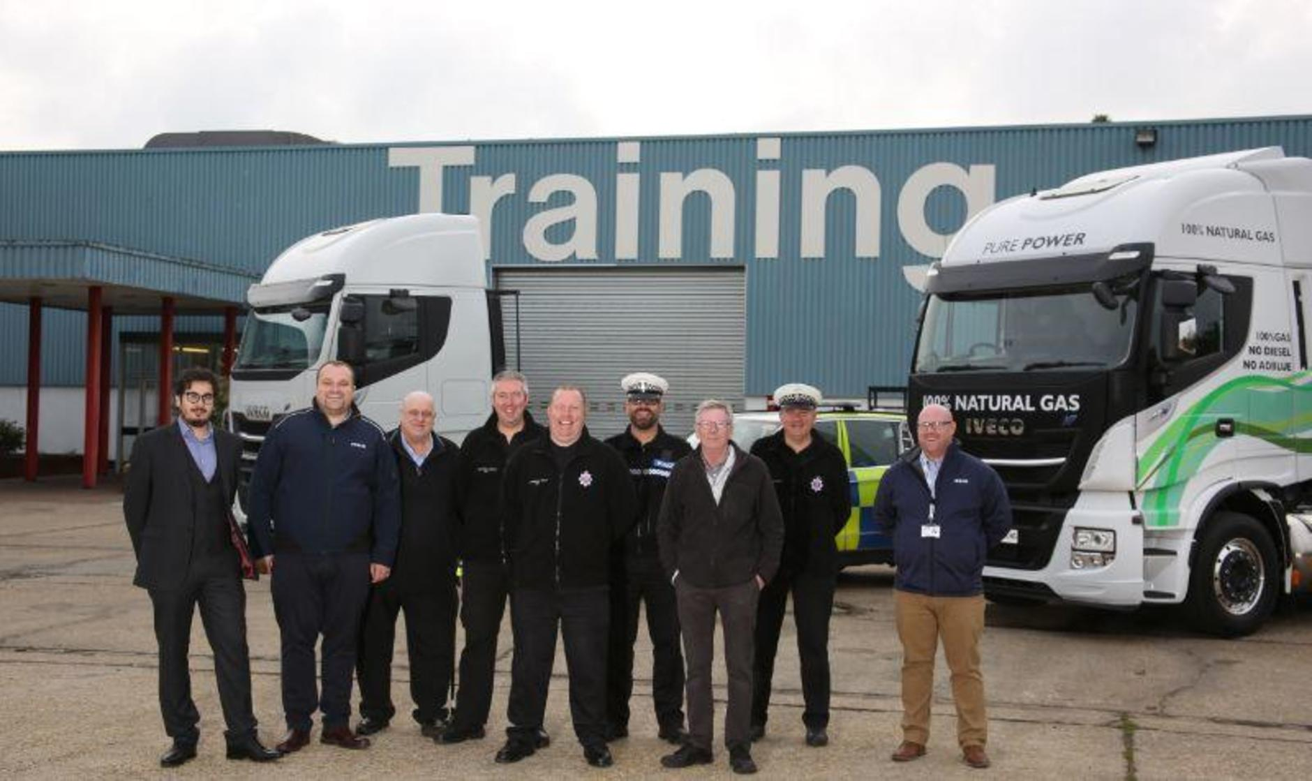 IVECO training day with Essex Police